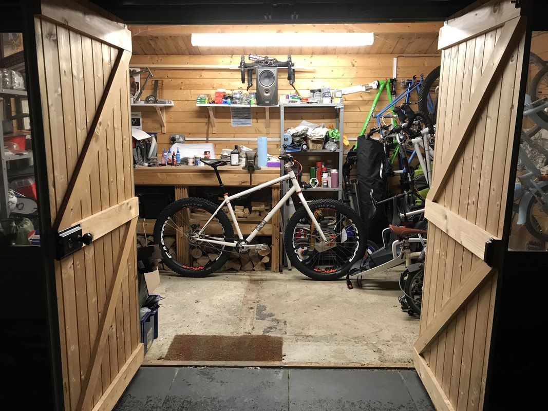 Davey Push Bikes Full-Moto rigid steel 27.5+ plus mountain bike sturmey archer modified 3 speed fun