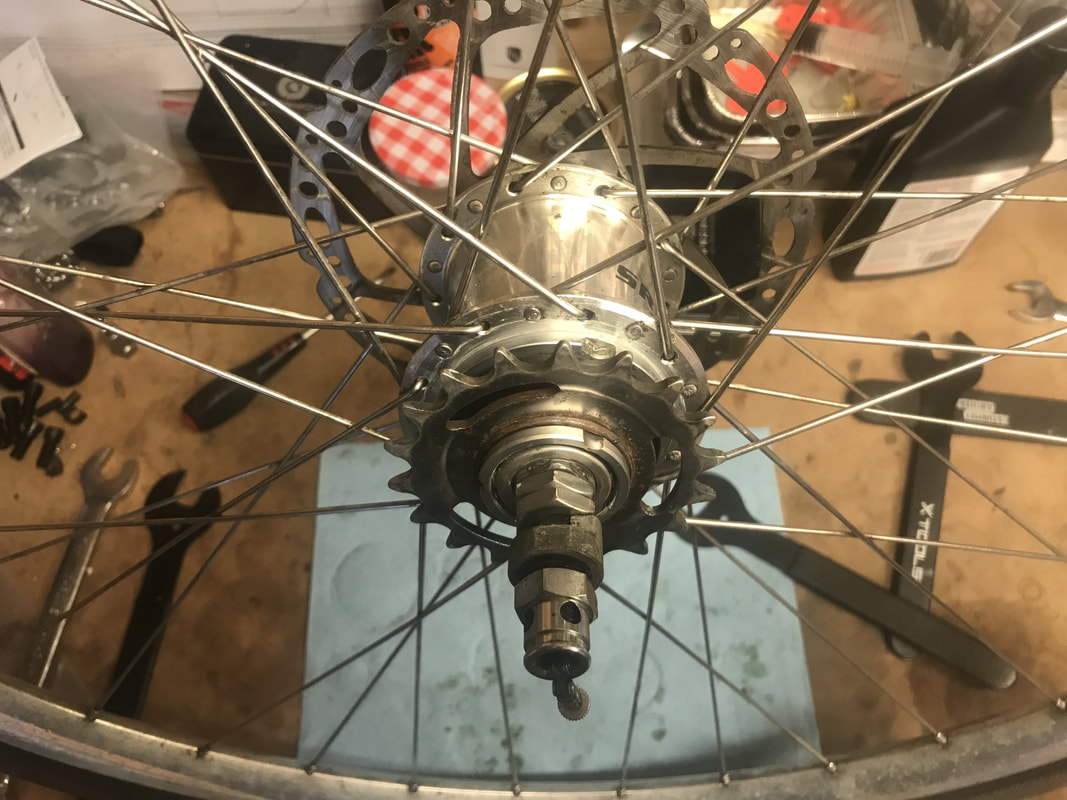 Davey Push Bikes Sturmey Archer modified 3 three speed service S-RK3