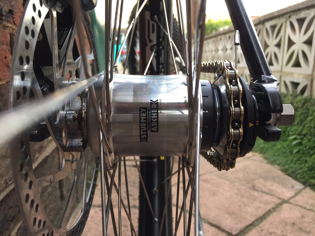 Davey Push Bikes Sturmey Archer rotary hub three 3 speed RS-RK3 S-RK3 RS-RF3 modified